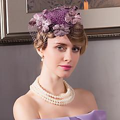 פשתן קטיפה רשת כיסוי ראש-חתונה אירוע מיוחד קז'ואל משרד וקריירה חוץ קישוטי שיער כובעים חלק 1