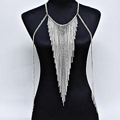 נשים תכשיטי גוף שרשרת גוף / בטן שרשרת טבע אופנתי סגנון בוהמיה סגסוגת תכשיטים עבור אירוע מיוחד קזו'אל