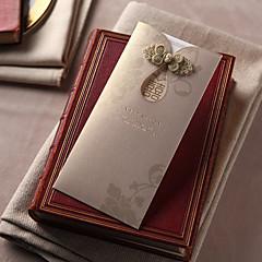 Cartão Raso Convites de casamento 50-Convites para Festas de Noivado Bachelorette Party Cartões Conjuntos de Convites Cartões Pré-Convite