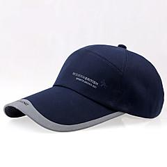 Yaz beyzbol kap uzun pervaz gölge güneş şapka ile açık pamuklu tuval