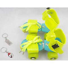 Kinder Roller Skates Einstellbar Grün/Rote/Rosa/Pfirsich/Gelb