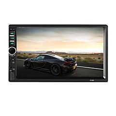 7018b 2 din bluetooth автомобильное радио видео autoradio fm aux usb sd hd сенсорный экран am rds музыкальный плеер
