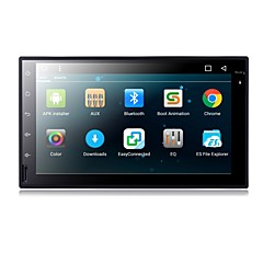 Android 6,0 ​​7 tommers bil dvd-spiller med quad-core contex a9 1.6ghz / radio / wifi / 4g / gps / rds