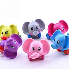 Brinquedos de Corda Elefante Plásticos Não Especificado todas as Idades