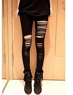Vrouw Gerafeld Legging Medium
