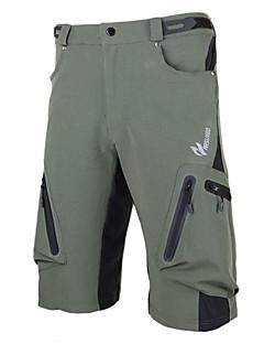 Arsuxeo Shorts para Ciclismo Homens Moto Shorts Shorts largos Calças Secagem Rápida Design Anatômico Vestível Respirável Elastano Terylene