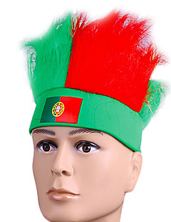 Headpiece Festival/Holiday Halloween Costumes Red / Green Headband Halloween / Carnival Terylene / Polyester / Polyurethane Leather