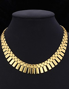 Γυναικεία Κολιέ Τσόκερ Κολάρα Vintage Κολιέ Κοσμήματα Επιμεταλλωμένο με Πλατίνα Επιχρυσωμένο Κοσμήματα με στυλ κοστούμι κοστουμιών