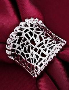 Női Vallomás gyűrűk Klasszikus Személyre szabott jelmez ékszerek Ezüst Ékszerek Kompatibilitás Esküvő Parti Napi Hétköznapi
