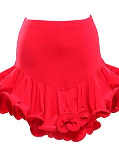 ריקוד לטיני חצאיות טוטו וחצאיות בגדי ריקוד נשים הופעה ויסקוזה עטוף חלק 1 חצאית