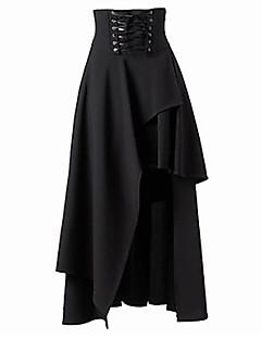 Damen Röcke - Sexy / Street Schick Asymmetrisch Polyester Mikro-elastisch
