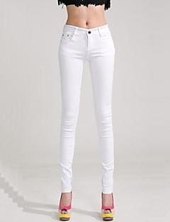 Spodnie-Obuwie damskie-Wąskie-Rozmiar plus / Na co dzień