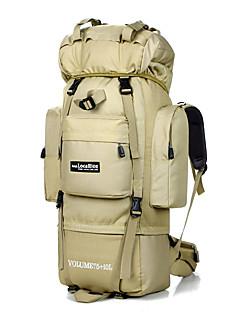 75 L mochila Acampar e Caminhar Viajar Prova-de-Água Náilon LOCAL LION