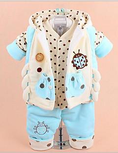 bebê Roupa de Dormir-Casual Geométrica-Algodão Poliéster-Inverno Primavera-