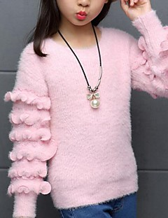 女の子の カジュアル/普段着 ゼブラプリント コットン,セーター&カーデガン 春 / 秋 ブルー / レッド