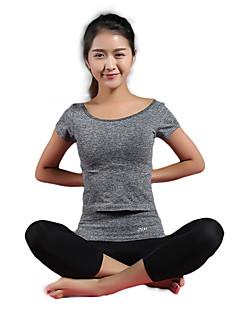 Mulheres Conjunto Camiseta e Calça de Corrida Sem Manga Secagem Rápida Respirável Compressão Camiseta Shorts Conjuntos de Roupas para