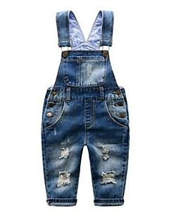 Menino de Calças / Jeans,Casual Cor Única Algodão Primavera / Outono Azul