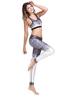 Yoga & Dansesko Leggings Klessett Topper Bunner Pustende Stretch Drakter Dame Yoga & Danse Sko Pilates