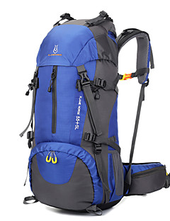 60 L Pacotes de Mochilas Mochilas de Escalada Organizador de Viagem mochila Alpinismo Esportes Relaxantes Acampar e Caminhar Viajar
