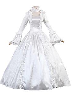 Cosplay Kostüme Prinzessin Göttin Santa Anzüge Fest/Feiertage Halloween Kostüme einfarbig Kleid Halloween Weihnachten Karneval Silvester