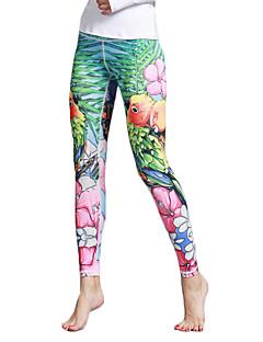Yogabroek Fietsen Tights/Lange Broek Legging Ademend Sneldrogend Natuurlijk Hoge Elasticiteit Sportkleding DamesYoga Pilates