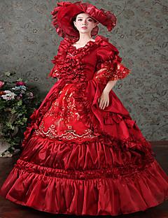 Yksiosainen/Mekot Gothic Lolita Söpö Lolita Klassinen ja Perinteinen Lolita Punk LolitaPrinsessa Vintage-kokoelma Tyylikäs Viktoriaaninen