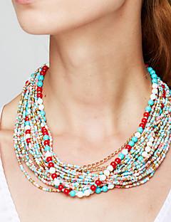 Γυναικεία Σκέλη Κολιέ Κολιέ Δήλωση Κοσμήματα Κράμα Μοντέρνα Ευρωπαϊκό Κομψή Βοημία Style Γιορτές/Διακοπές κοστούμι κοστουμιών Κοσμήματα