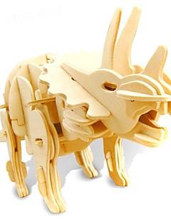 Puzzle Sada na domácí tvoření 3D puzzle Stavební bloky DIY hračky Dinosaurus