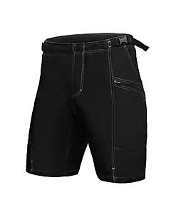 Jaggad Bermudas Acolchoadas Para Ciclismo Homens Moto Shorts largos Calças Ciclismo 100% Poliéster SólidoCiclismo de Montanha Ciclismo de