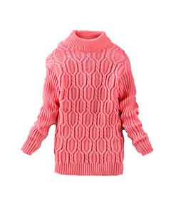 女の子の カジュアル/普段着 ゼブラプリント ウール,セーター&カーデガン 冬 ブラック / ピンク / レッド / グレー