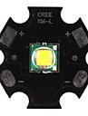 DIY Cree lumina alba 7000K 1000lm 10w a condus emițător cu bază de aluminiu (3.2-3.6V)