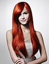 Capless mode couleur soyeux droites couleurs perruque de cheveux de multiples disponibles