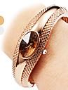 Pentru femei Ceas La Modă Ceas Brățară Ceas Casual Quartz Aliaj Bandă Brățară rigidă Elegant Argint Bronz