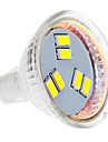 daiwl MR11 3W 6x5630smd 270lm 5500-6500k kallt vitt ljus ledde spot lampa (12V)