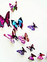 autocolante de perete, moderne de viață oraș pvc stereo fluture violet autocolante de perete