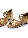 Latin - Pantofi de dans (Negru/Maro/Argintiu/Auriu/Leopard/Alte) - Personalizat - Pentru femei