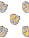 Ywxlight® 5pcs mr16 5w 60smd 2835 400-500lm chaud / froid blanc ac 220-240 / ac 12v