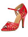 Chaussures de danse(Autre) -Non Personnalisables-Talon Aiguille-Cuir-Latine Salsa