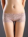 Feminin Sexy / Ridicare / Dantelă Jacquard Pantaloni scurți & Briefs / Chiloți Ultra SexyPolyester / Bumbac / Dantelă)
