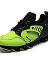 Unisex Adidași Confortabili PU Primăvară Toamnă Casual Alergare Confortabili Dantelă Toc Plat Argintiu Mov Verde Auriu Plat