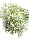 6 Une succursale Polyurethane Gypsophila Fleur de Table Fleurs artificielles 58.42(23\'\')