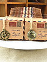 50 Piesă/Set Favor Holder-În Formă de Cub Hârtie cărți de masă Cutii de Savoare Nepersonalizat