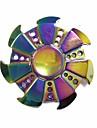 Spinner antistres mână Spinner Jucarii Ring Spinner aluminiu Metal EDCBirouri pentru birou Ameliorează ADD, ADHD, anxietate, autism