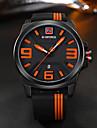 NAVIFORCE Bărbați Ceas Sport Ceas Militar Ceas La Modă Ceas de Mână Ceas Casual Japoneză Quartz Calendar Mare Dial Silicon BandăCool