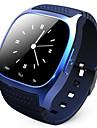 rwatch m26 bärbara Smartwatch, mediekontroll / handsfree-samtal / stegräknare / anti-förlorade för android / ios