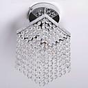 ieftine Lumini Pandativ-QINGMING® Montaj Flush Lumini Ambientale - Cristal, Stil Minimalist, 110-120V / 220-240V Becul nu este inclus / 5-10㎡ / E12 / E14