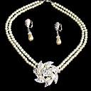 povoljno Komplet nakita-ženski set nakita - elegantni nakit postavljen za vjenčanje / party / obljetnicu