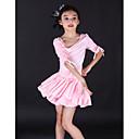 hesapli LED Çift-Pimli Işıklar-Çocuk Dans Kıyafetleri / Bale Elbiseler Eğitim Splandeks Yarım Kol / Latin Dansı