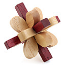 cheap Wooden Puzzles-Wooden Puzzle IQ Brain Teaser Professional Level Speed Wooden Classic & Timeless Boys' Gift