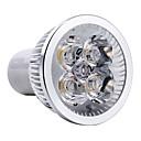 cheap LED Bulbs-4W GU10 LED Spotlight MR16 4 High Power LED 350-400lm Warm White 3000K AC 85-265V